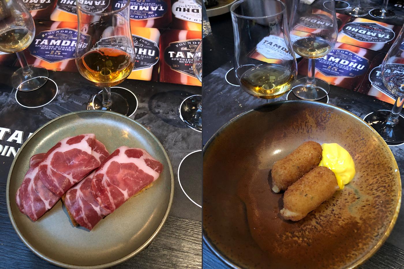 Tamdhu Whisky Diner 2019 groot succes_Tamdhu en Tapas
