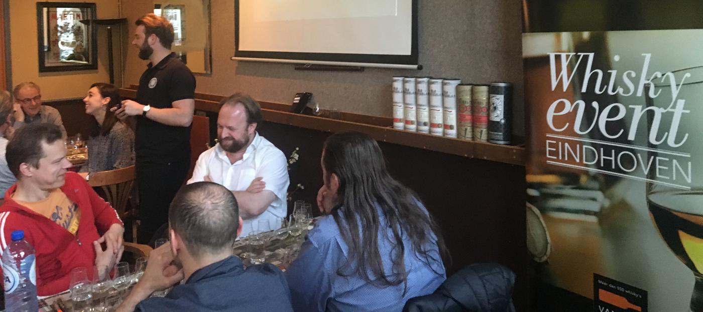 Whisky Tasting Douglas Laing onder leiding van Dale Perry