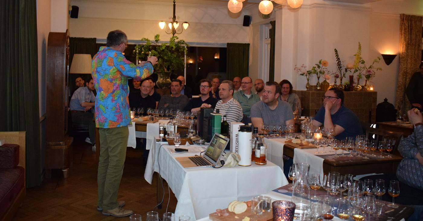 Whisky wereldreis door 6 landen voor bezoekers tasting Mitra Zuiderpoort