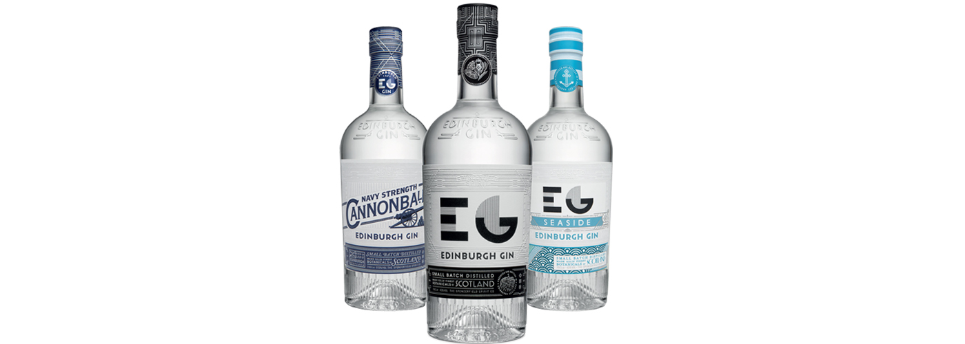 Edinburgh Gin Original Seaside en Cannonball