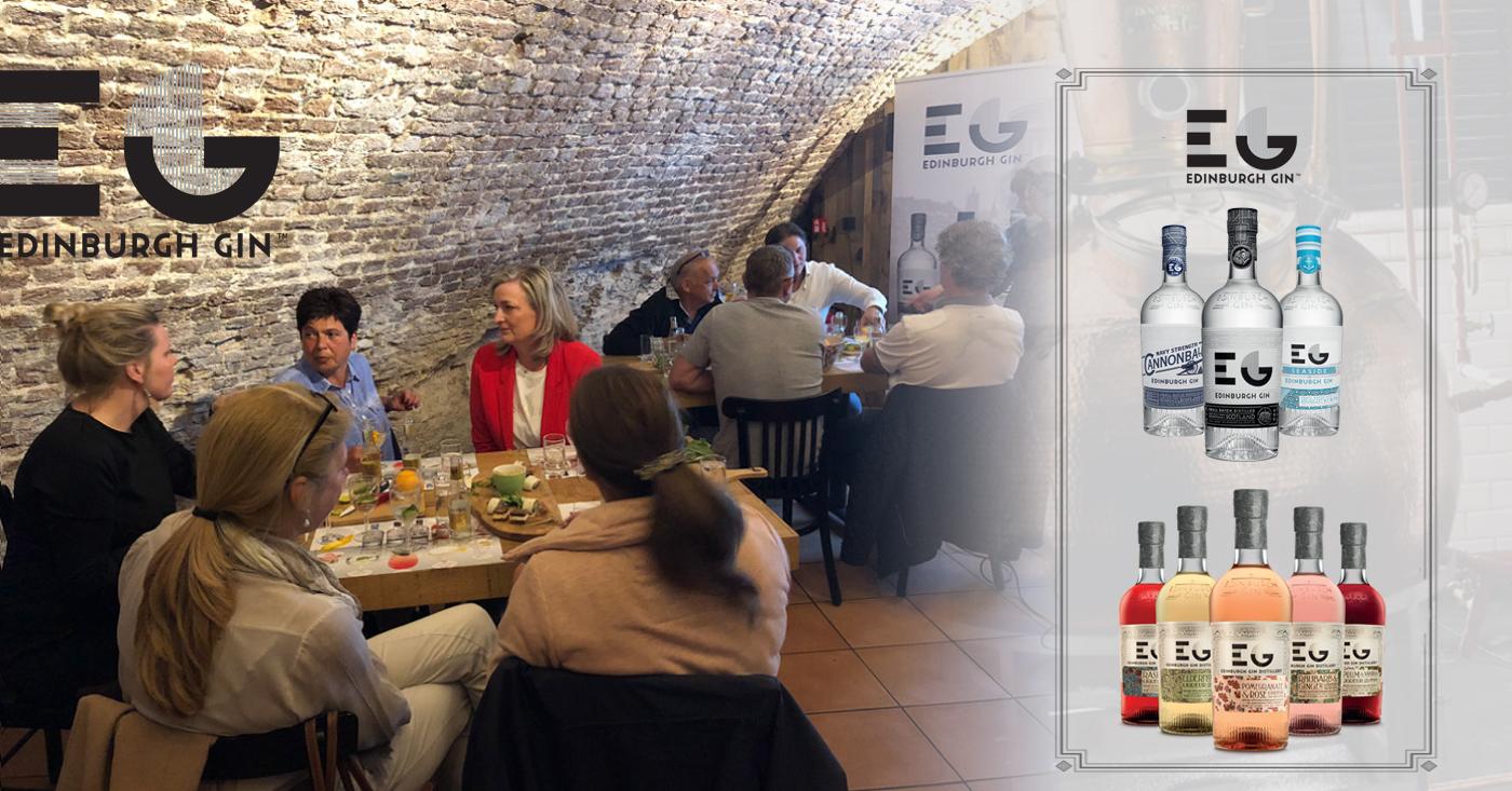 Edinburgh Gin likeuren verrassen bezoekers proeverij Geertruidenberg