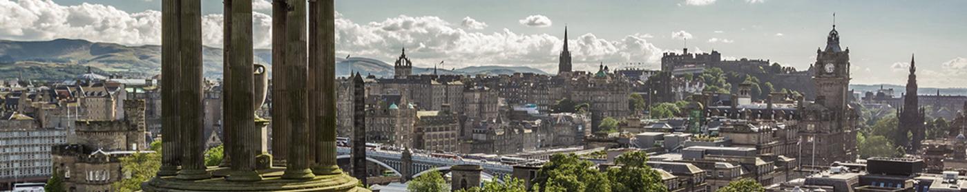 Edinburgh Gin overzicht stad