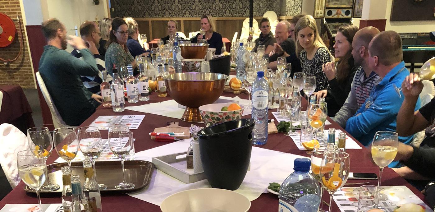 Geslaagde Edinburgh Gin & Tonic proeverij bij 't Bockje in Bathmen