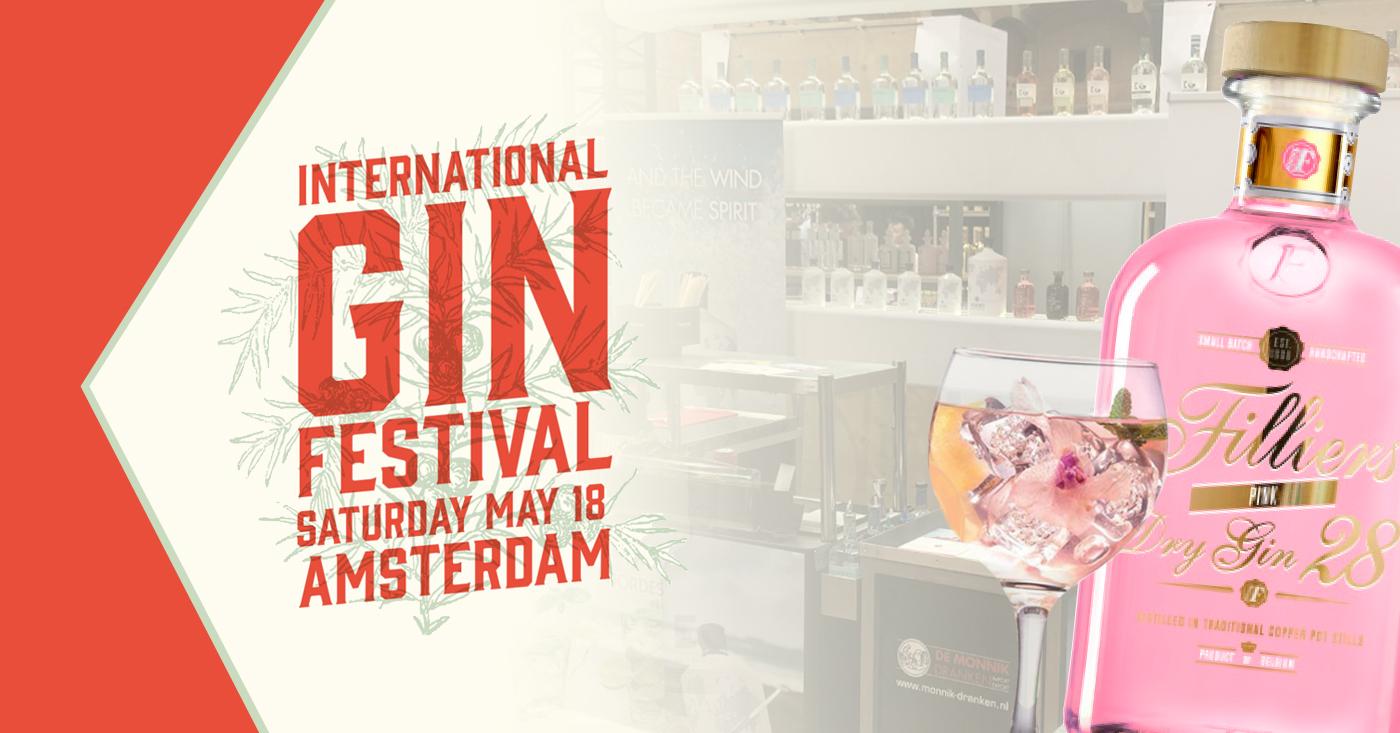 Gin Festival Amsterdam met Filliers Pink Dry 28 en nog veel meer