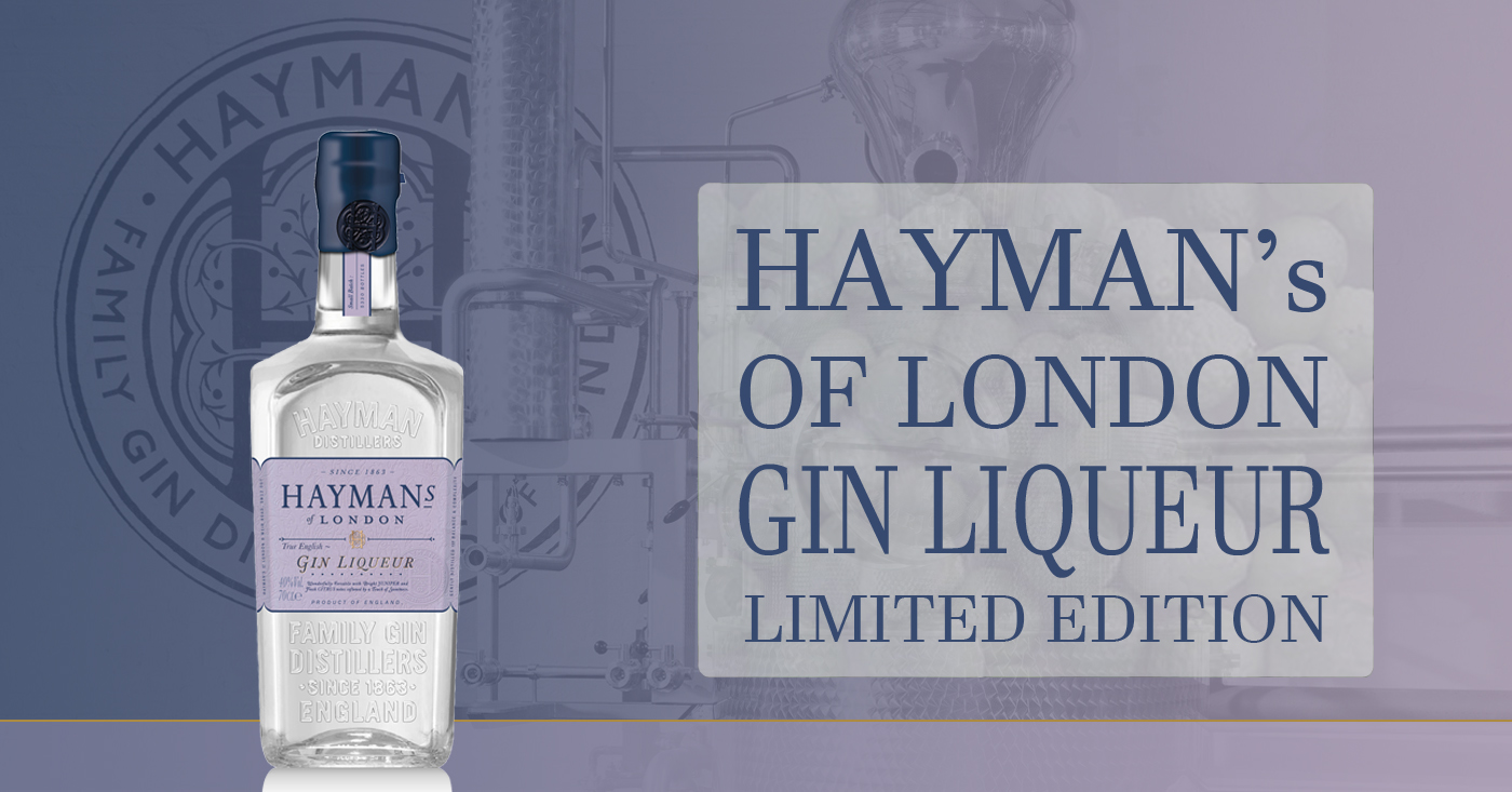 Hayman's of London Gin komt met limited edition