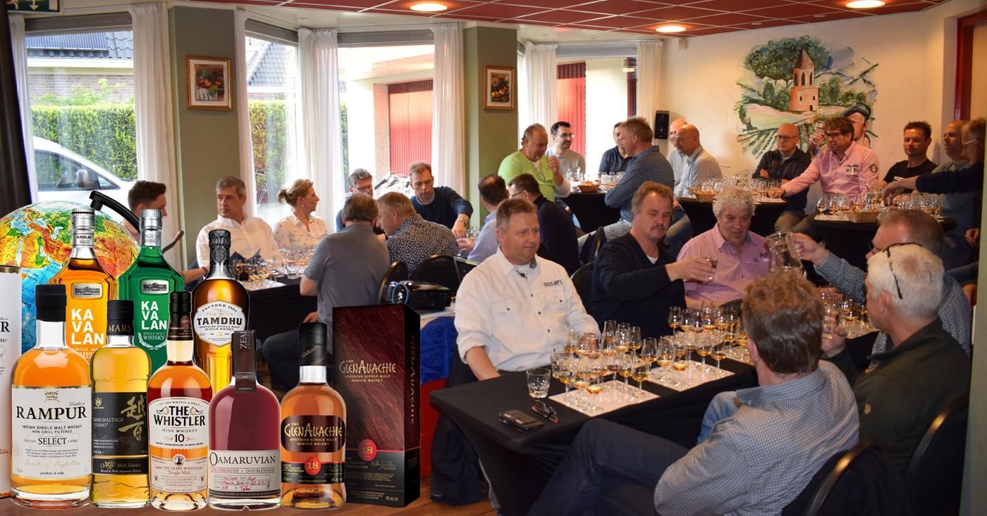 Heino maakt kennis met fascinerende wereld van whisky