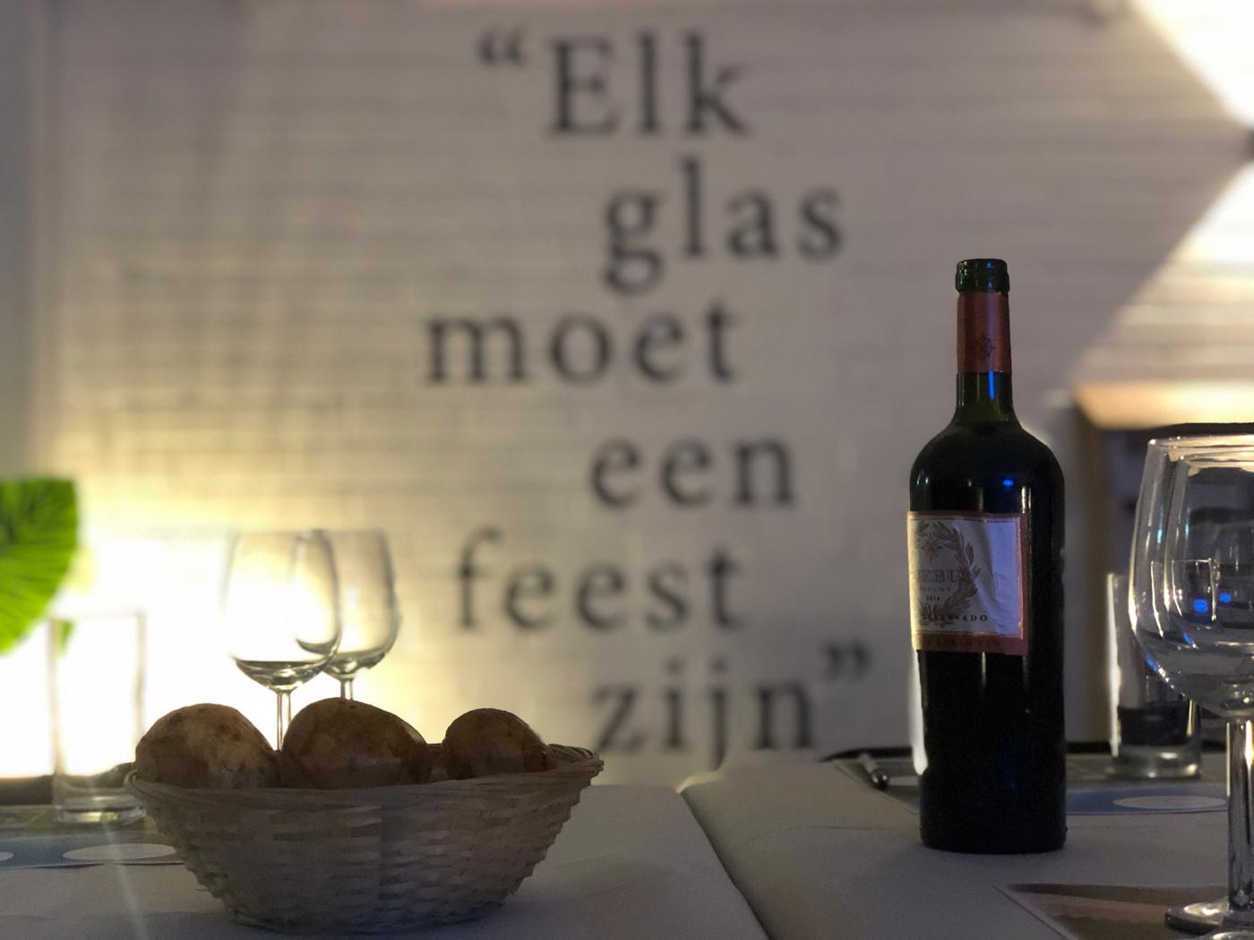 Phebus wijnproeverij bij Slijterij De Drankenier in IJmuiden