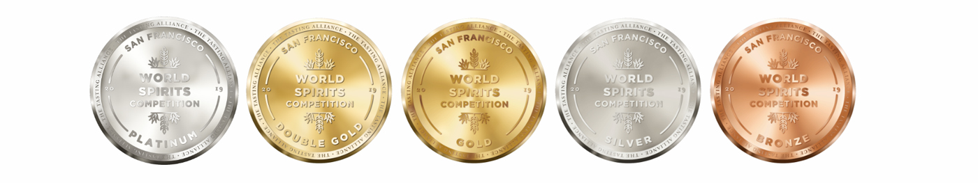 San Francisco World Spirits Competition 2019 medailles