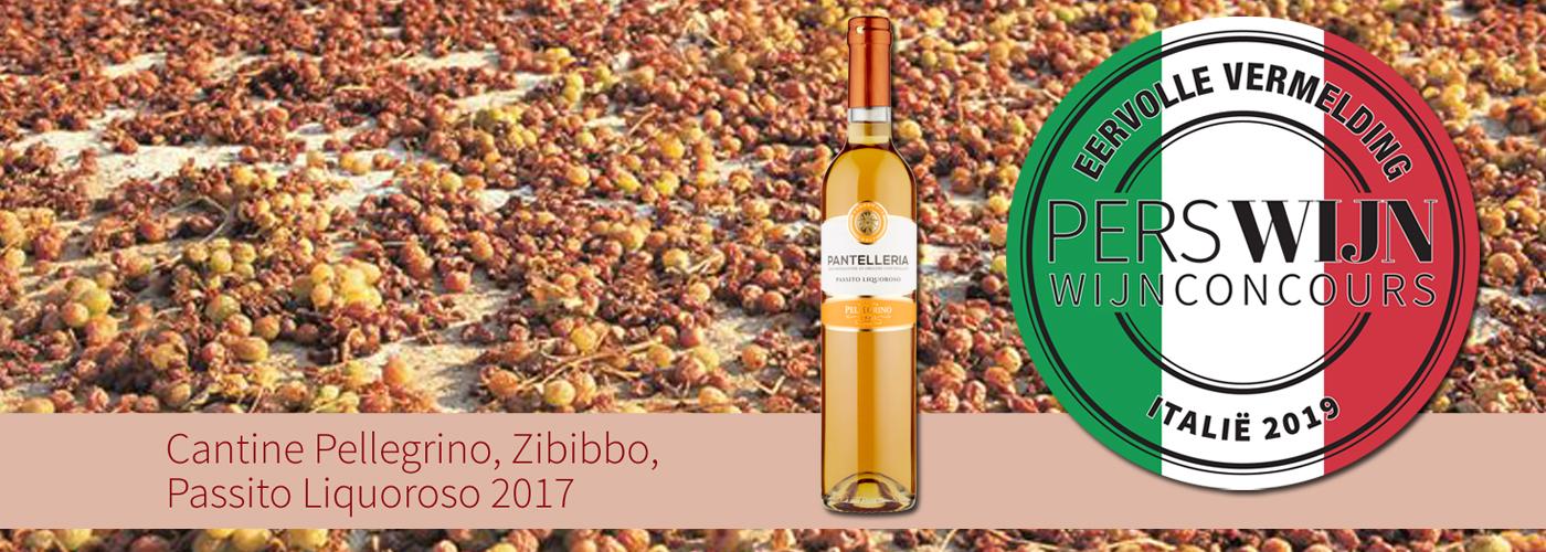 Cantine Pellegrino Passito Liquoroso 2017 Pantelleria