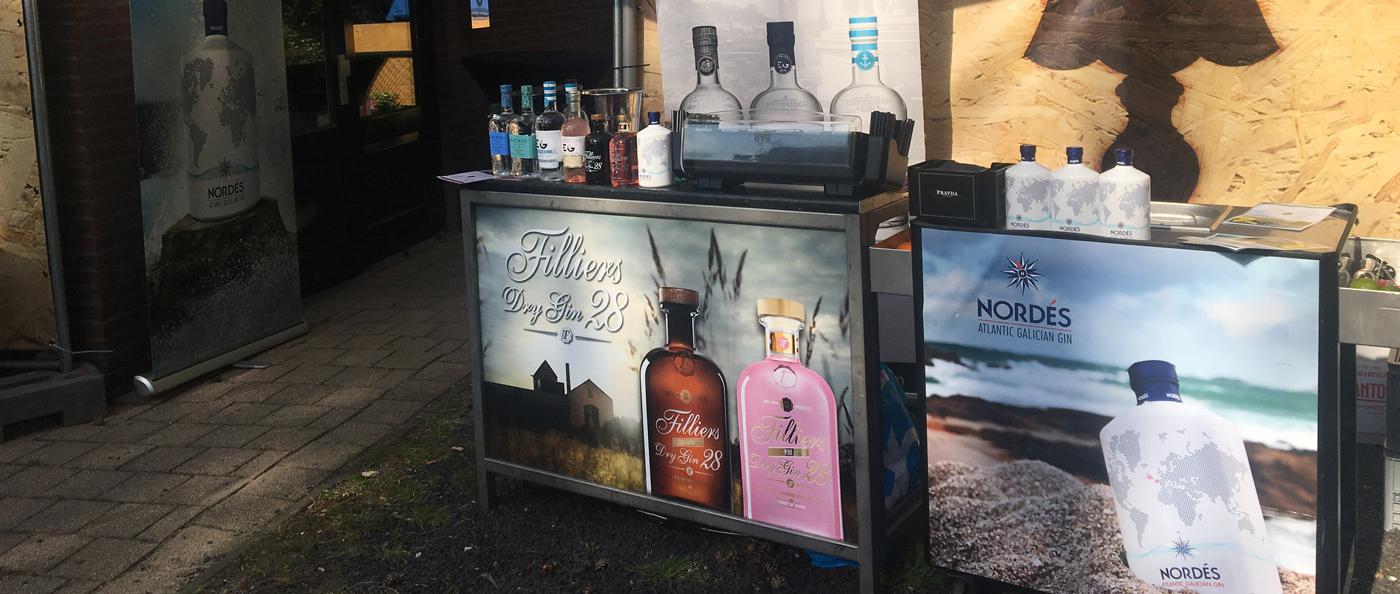 Edinburgh Gin Rhubarb Ginger Liqueur geliefd op Gin Tonic Festival Weert_Nordes