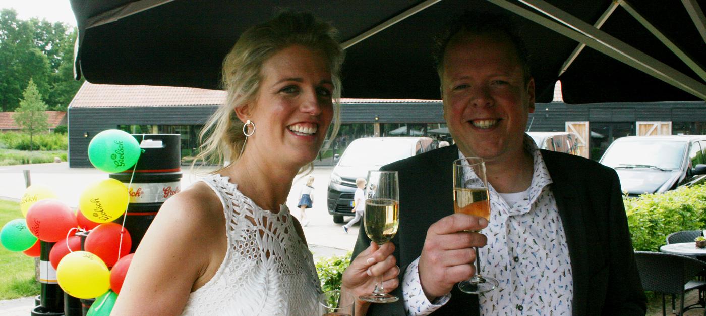 Huwelijk Niek Heerink en Korien Burink