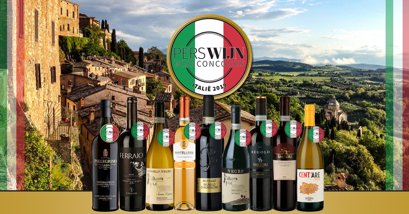 Perswijn Wijnconcours Italië