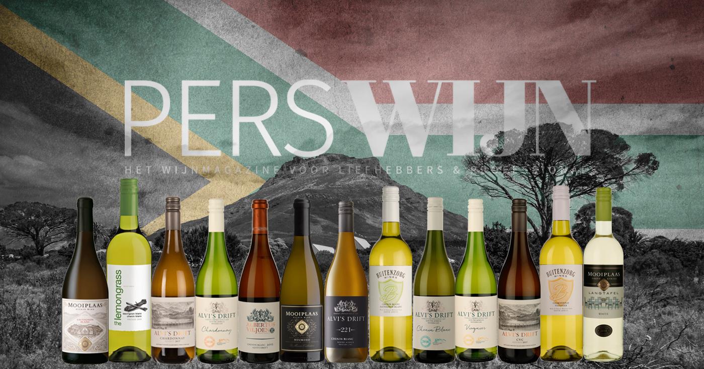 Perswijn beoordeelt onze witte wijnen uit Zuid-Afrika meer dan uitstekend