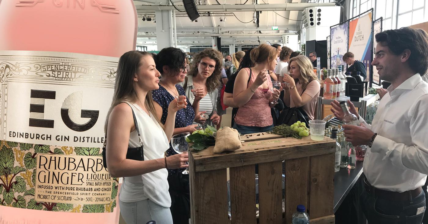 Rotterdam ontdekt Edinburgh Rhubarb & Ginger Liqueur