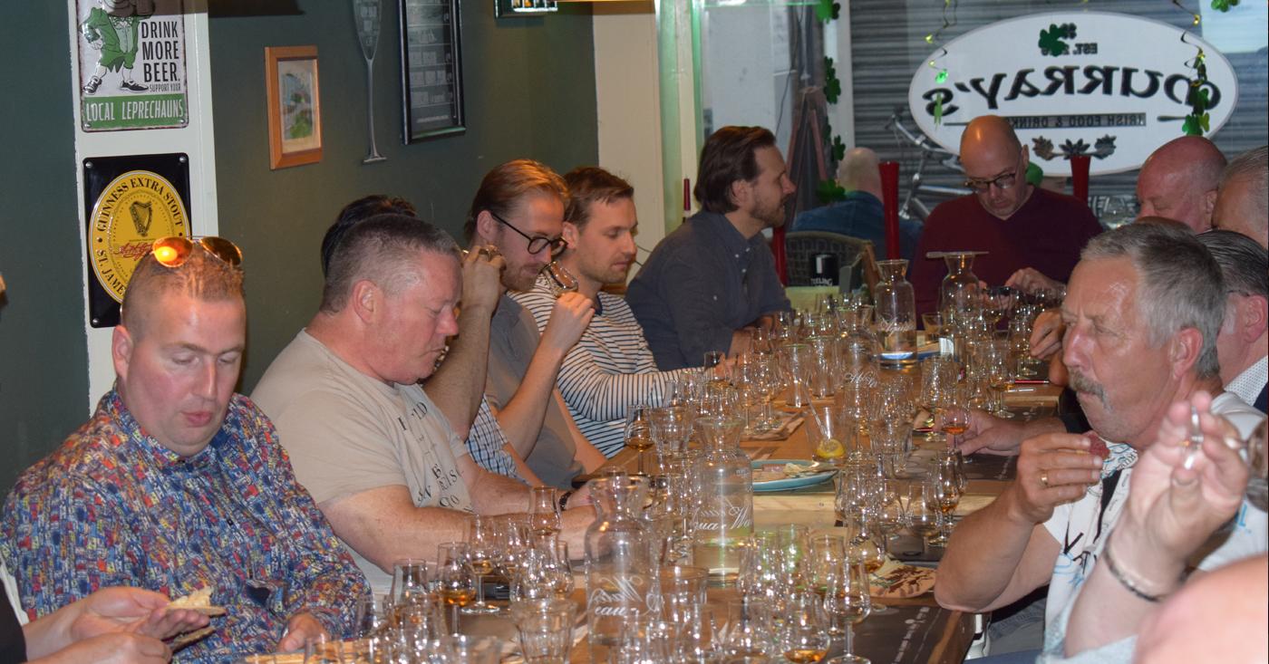 Schotse whisky in Iers restaurant Spijkenisse