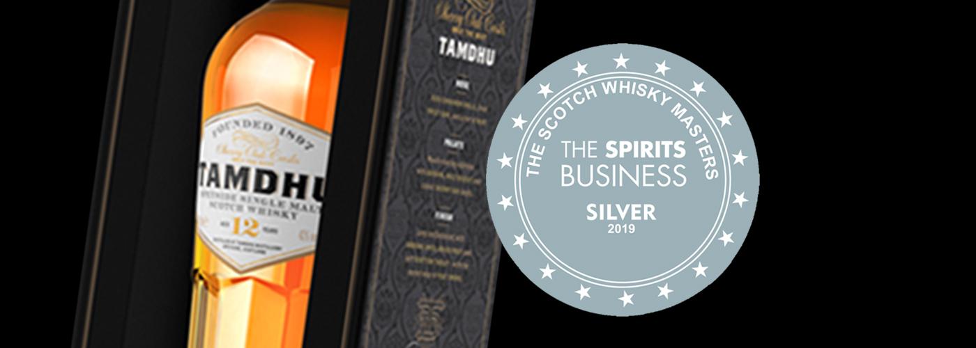 Tamdhu 12 YO Silver Award The Scotch Whisky Awards