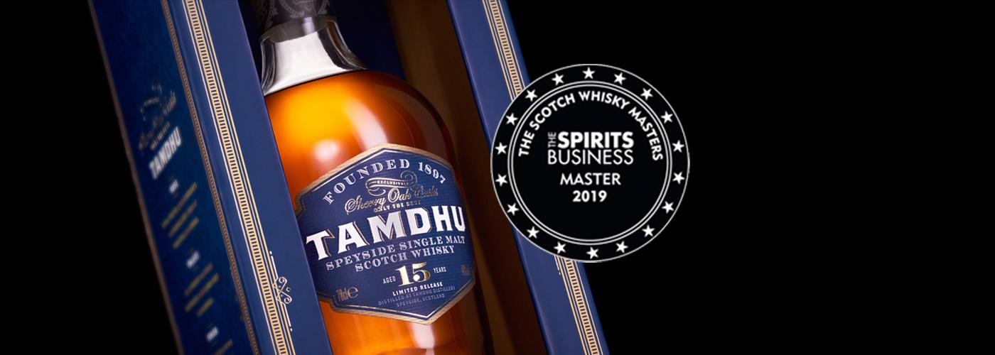 Tamdhu 15 YO Master Award The Scotch Whisky Awards