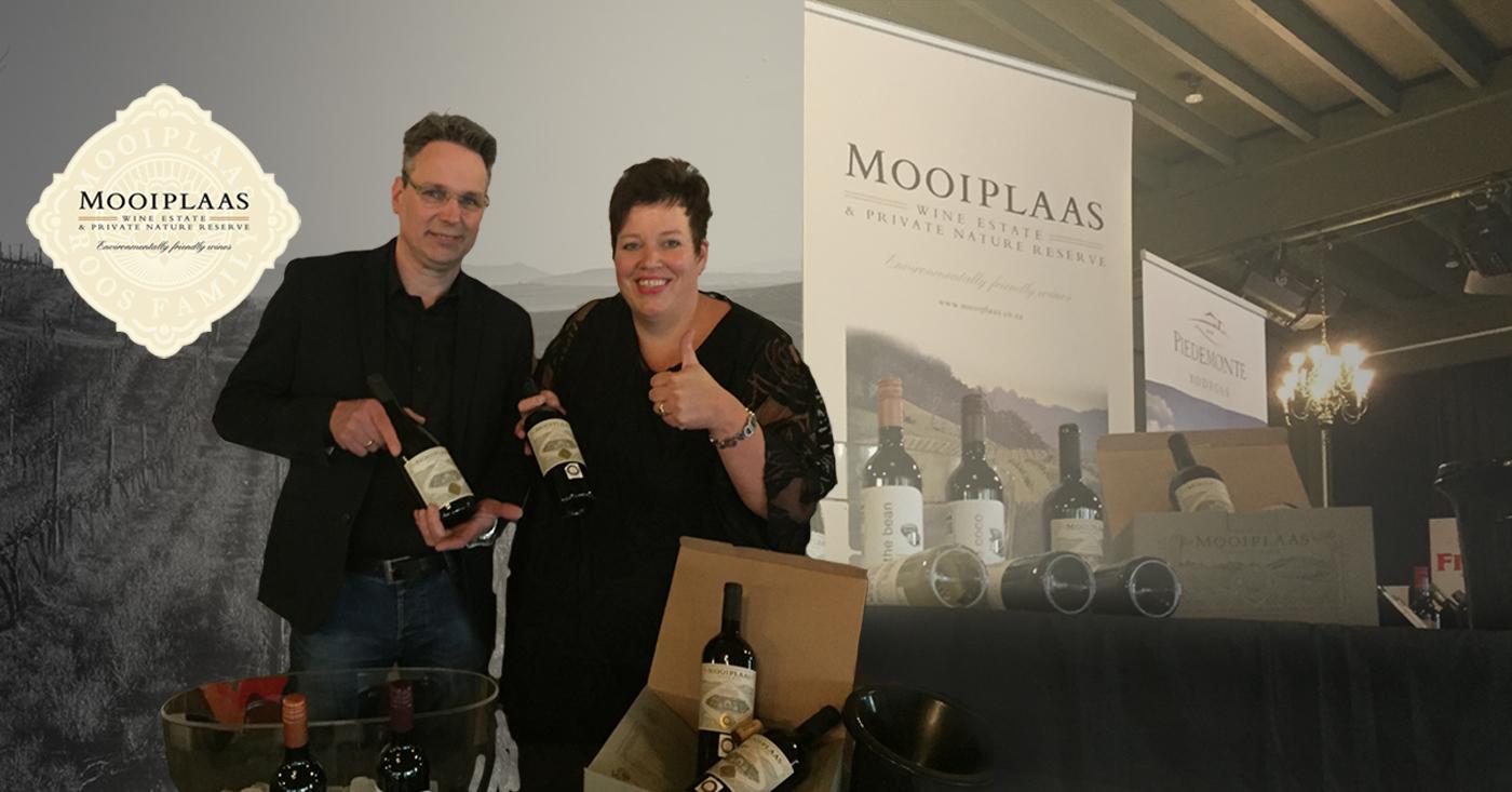 Zuidhorn ontdekt wijnen van Mooiplaas Wine Estate