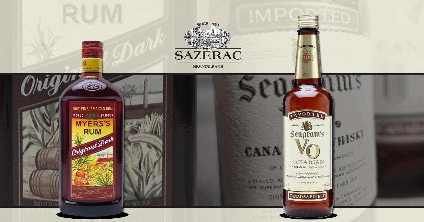 De Monnik Dranken exclusieve importeur van Myers's Rum en Seagram's VO Canadian Whisky