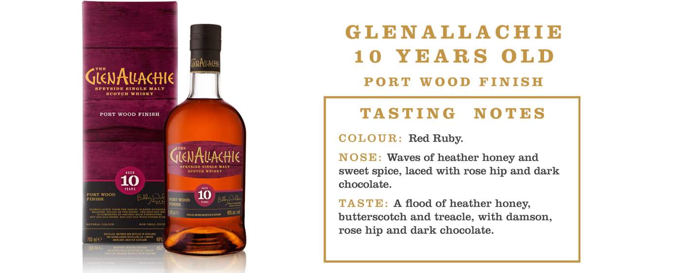 GlenAllachie 10YO Port Wood Finish
