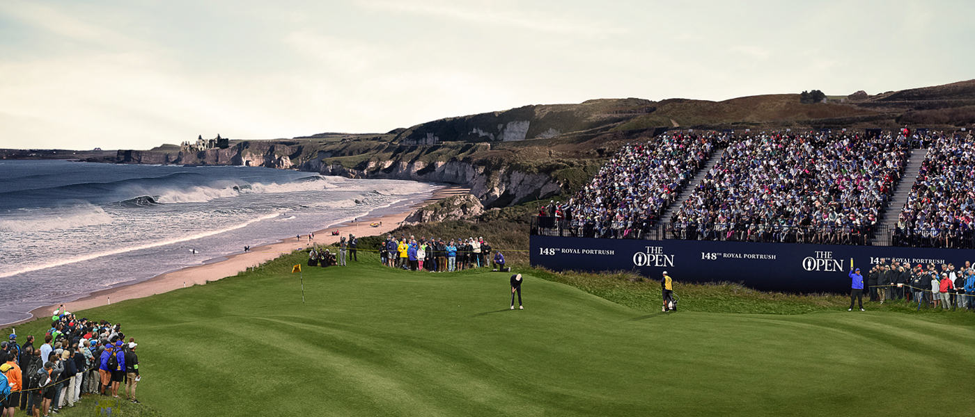 The Open Royal Portrush in Noord-Ierland