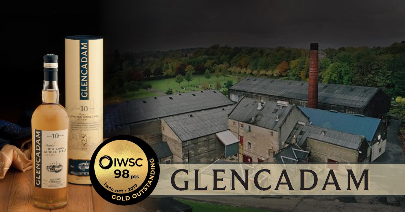 Glencadam 10 YO pakt Gold Outstanding op IWSC 2019