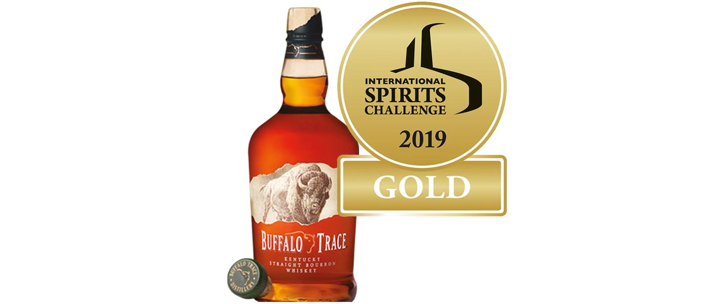Goud voor Buffalo Trace ISC 2019
