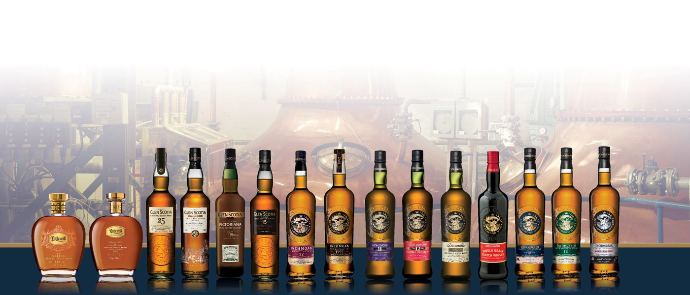 Loch Lomond Whiskies