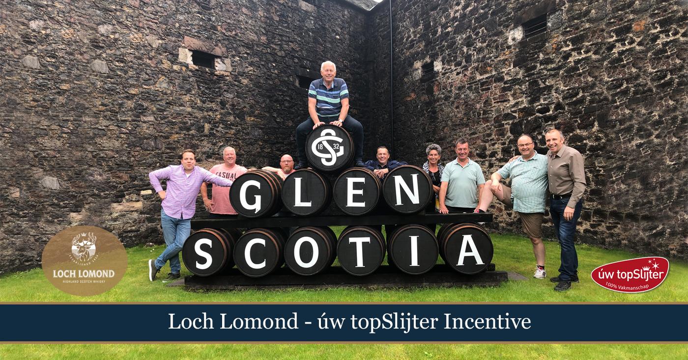 Uw topSlijters bezoeken Loch Lomond en Glen Scotia