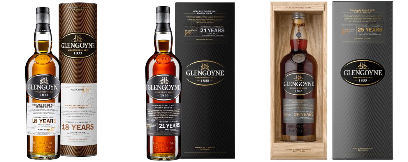 Glengoyne whiskies