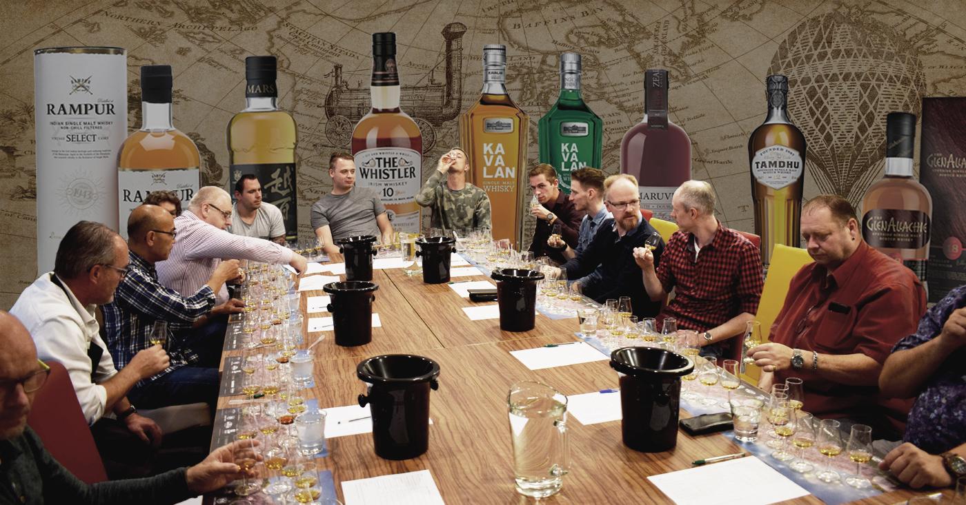 Ware ontdekkingsreis voor deelnemers whiskyproeverij Slijterij Grapes & Bottles