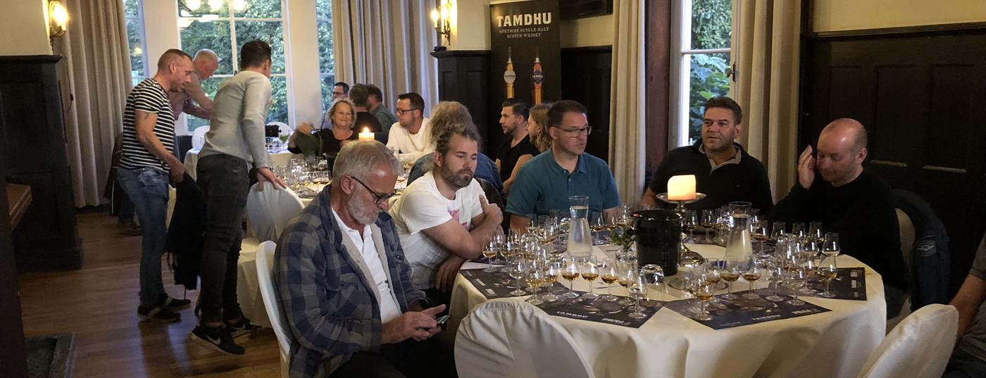 Whisky proeverij Kasteel Hoekelum