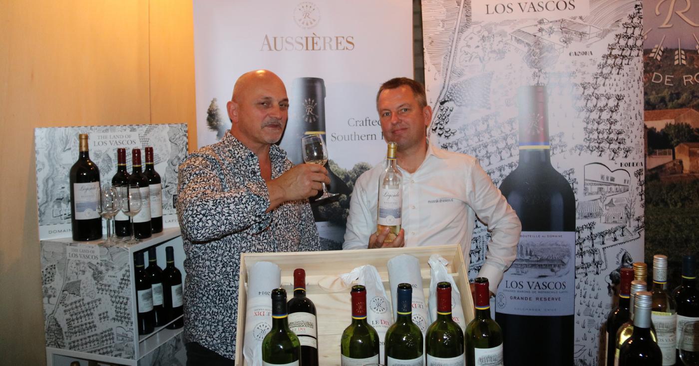 Mike laat wijnen Château Lafite-Rotschild Beetje Proeven Enzo