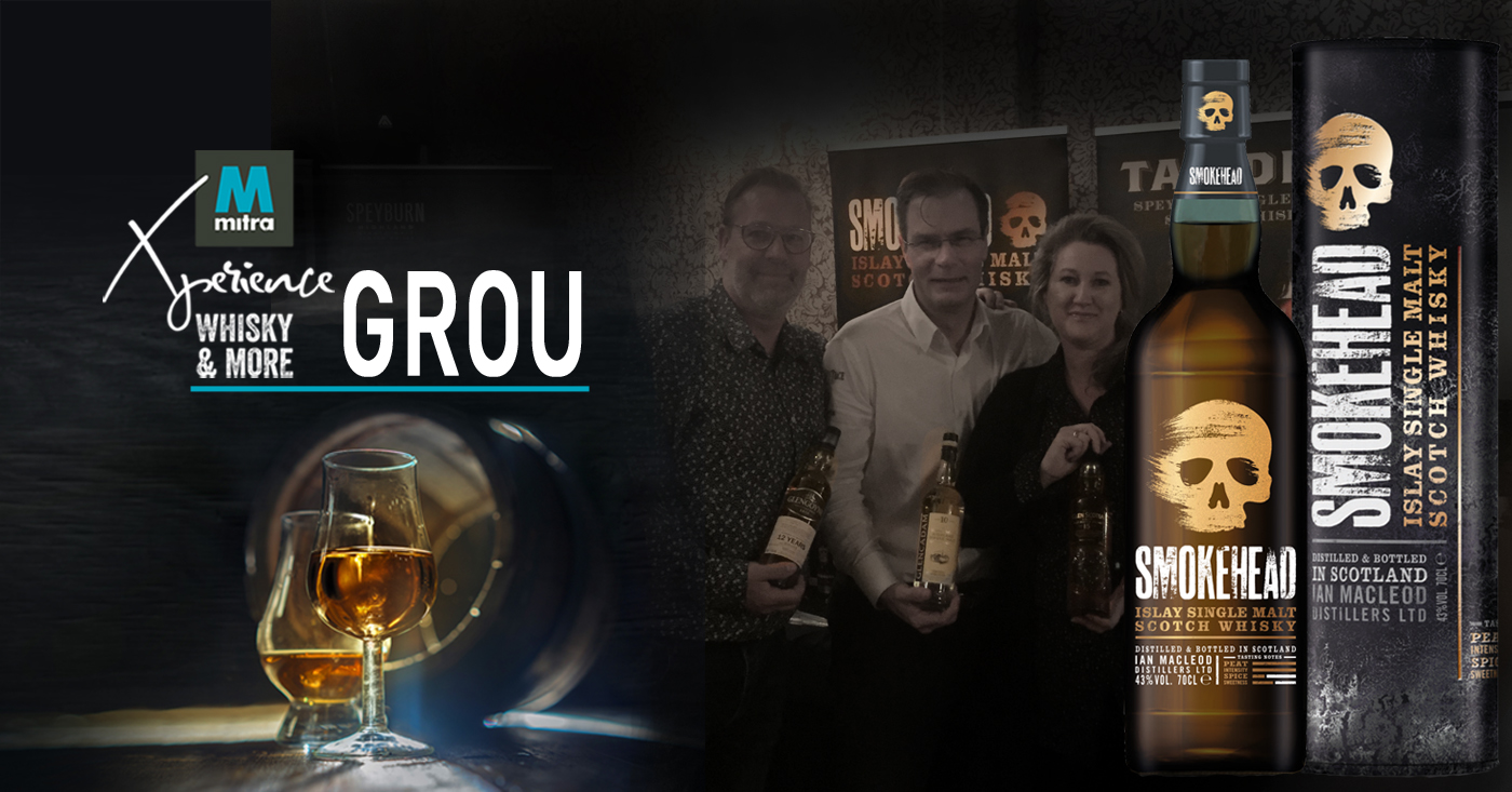 Smokehead favoriet op Mitra Xperience - Whisky & More in Grou