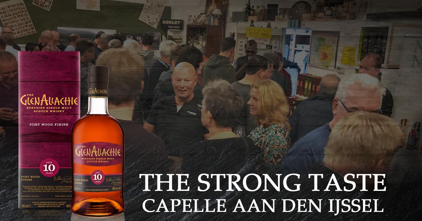 The Strong Taste primeur voor GlenAllachie 10 YO Port Cask