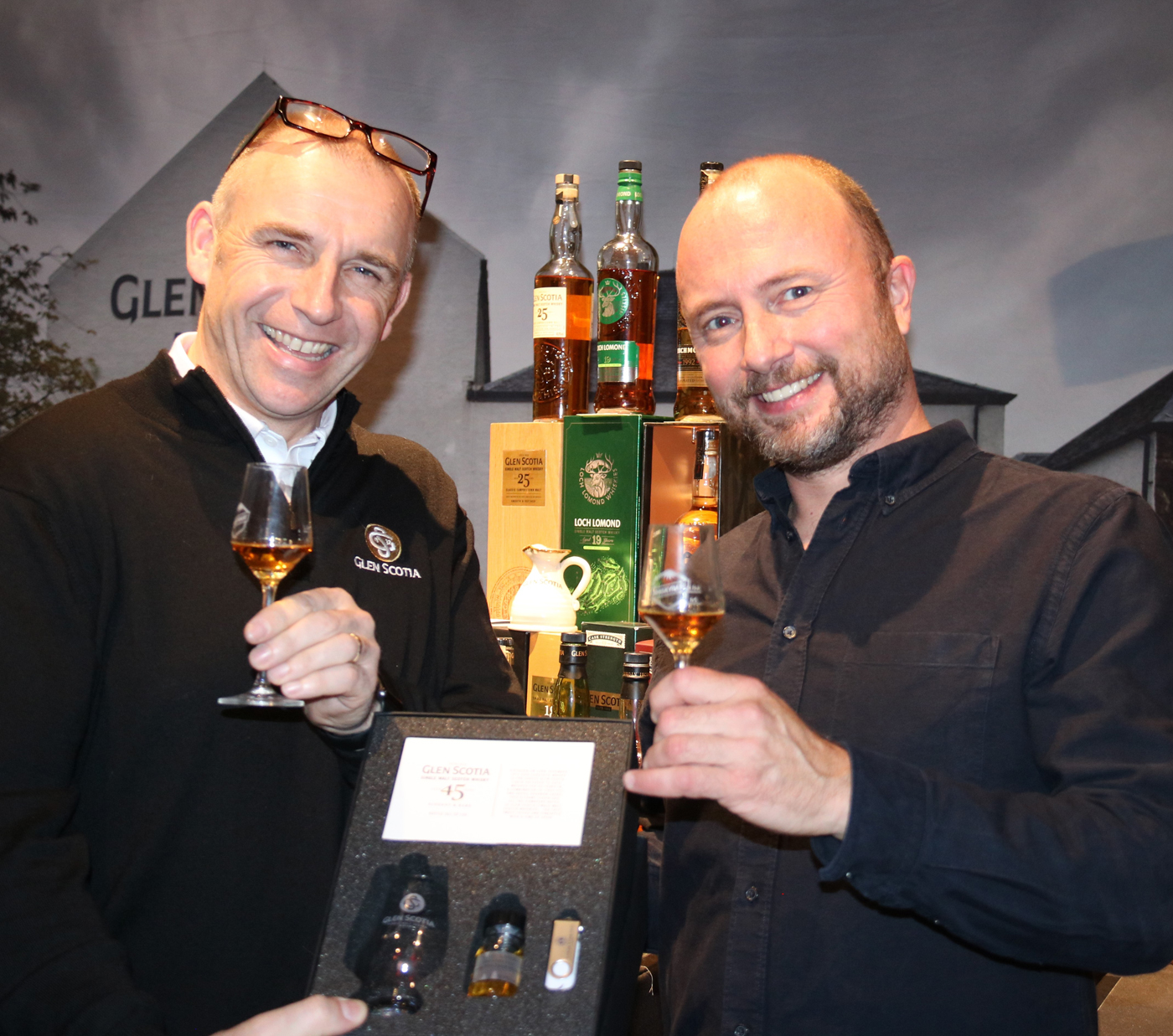 Uitreiking Glen Scotia 45 Years Old op Whiskybase The Gathering 2019