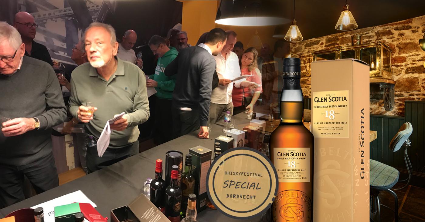 Glen Scotia 18 YO als special op whiskyfestival in Dordrecht