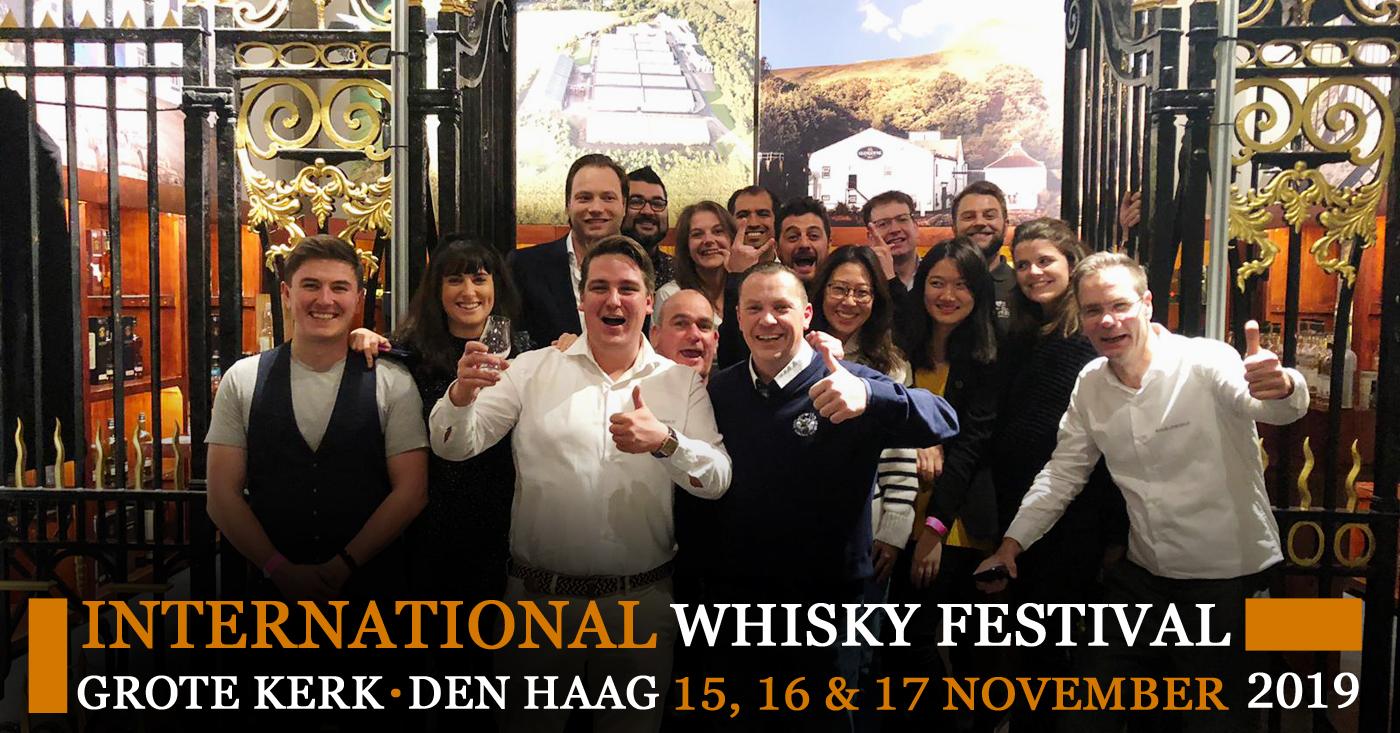 Geslaagde jubileumeditie van 20ste International Whisky Festival Den Haag!